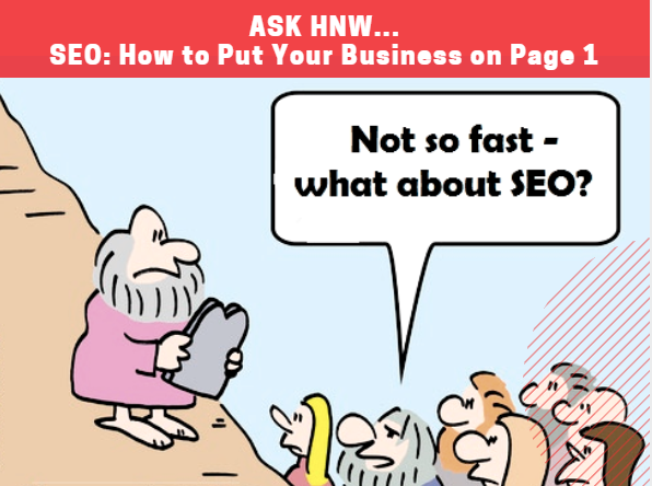 SEO How to Put Your Start Up Business on Page 1